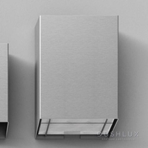 Agape Mach 2 Диспенсер для бумажных полотенец подвесной 40x26x12 см, цвет: сатин