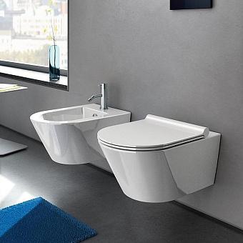 Catalano Zero Унитаз подвесной 55х35 см, безободковый, с крепежом и сиденьем, цвет: белый