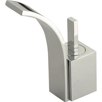 CISAL Wave Смеситель однорычажный для биде на 1 отверстие с донным клапаном, цвет хром