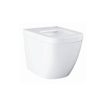 Grohe Euro Ceramic Унитаз 54x37 см, приставной, универсальный слив, цвет: белый