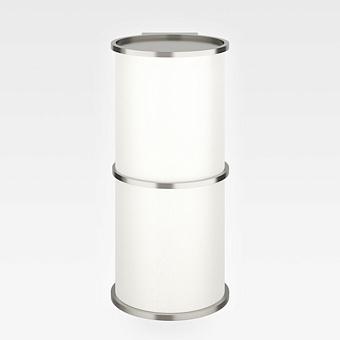 Armani Roca Baia Настенный LED светильник, полукруглая форма., цвет: brushed steel