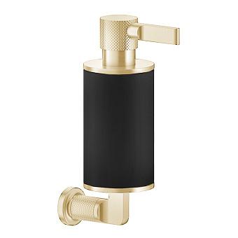 Gessi Inciso Дозатор для жидкого мыла, настенный, цвет: золото/черный
