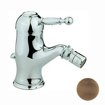 CISAL Arcana Royal Смеситель однорычажный для биде на 1 отверстие с донным клапаном, цвет бронза