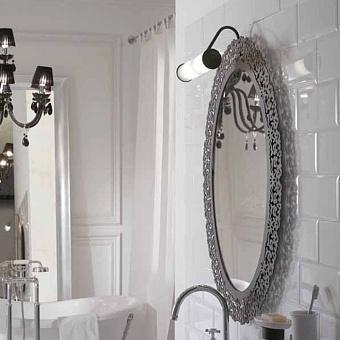 GLOBO Paestum Зеркало в раме овальное 71х95см, цвет: metallo antico