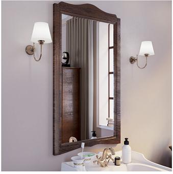 TW Veronica Nuovo Зеркало подвесное, в деревянной раме 83х110 см, цвет noce
