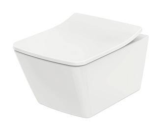 TOTO SP Унитаз подвесной безободковый 38x54x33.5см, с  сиденьем, цвет: белый