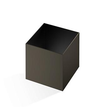 Decor Walther Cube DW 356 Баночка универсальная 13x13x14см, цвет: темная бронза