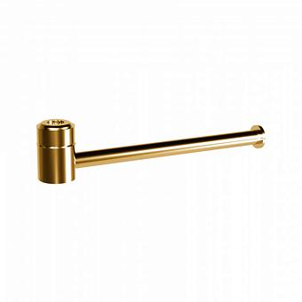 Держатель туалетной бумаги Bongio T Mix, подвесной монтаж, цвет: золото 24к.