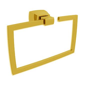 Bertocci Grace Полотенцедержатель - кольцо 25 см, подвесной, цвет: золото матовое