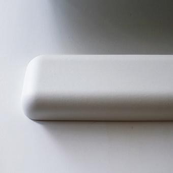 Bette Relax Подушка 34х12х4.5 см универсальная, для ванны на магнитах (комплект: 1 шт.), цвет: белый