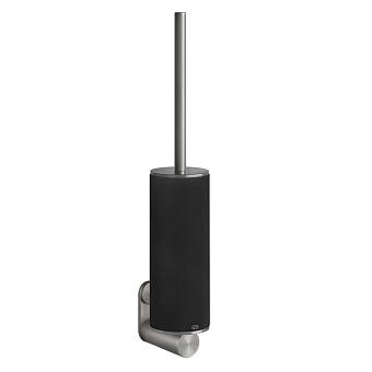 Gessi 316 Ершик настенный, цвет: шлифованная сталь/черный