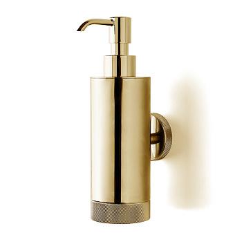 3SC Ribbon Дозатор для жидкого мыла, подвесной, цвет: золото 24к. Lucido
