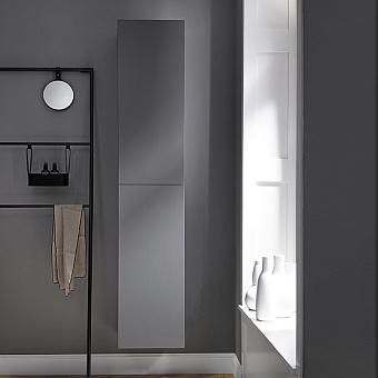 Burgbad Coco Подвесной шкаф 35x35x176 см, цвет серый