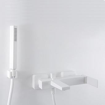 Webert Pegaso Смеситель для ванны, с душевым гарнитуром, цвет: белый