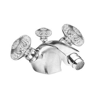 Cristal et Bronze Millesime Dome Смесители для биде, цвет хром
