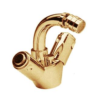 Cristal et Bronze Star Смеситель для биде, цвет золото 24 к.