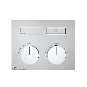 Gessi Hi-Fi Термостат для душа, 1 источник, цвет: хром