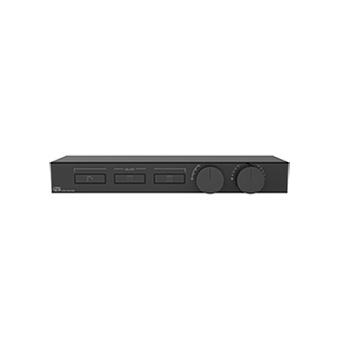 Gessi Hi-Fi Термостат для душа, с вкл. до 3 источников одновременно, с полкой из черного мат. стекла, цвет: Black Metal Brushed PVD