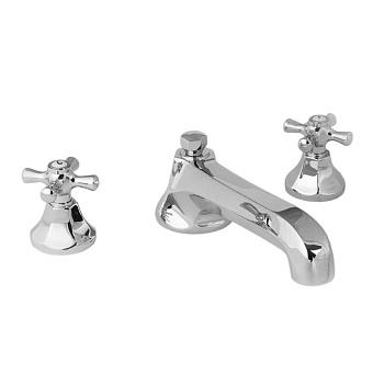 Cristal et Bronze Charlety Смеситель для ванны, цвет хром