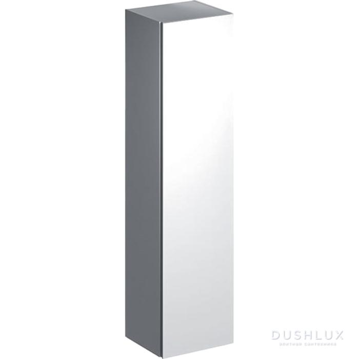 Geberit Xeno² Высокий пенал 40х170х35.1см, подвесной, с одной дверью и внутренним зеркалом, цвет: белый