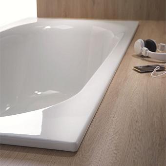 Bette Comodo Ванна встраиваемая 180х80х45 см, с шумоизоляцией, BetteGlasur® Plus, антислип, цвет: белый