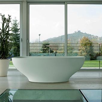 Globo Genesis Ванна свободностоящая 180х84х60см. Цвет- белый глянец