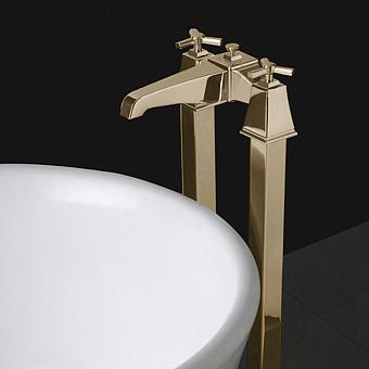 Devon&Devon Time Смеситель для ванны, цвет: золото