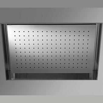 Antonio Lupi Душевая система Meteo Встраиваемый верхний душ 52 x 35 x 11 см, цвет: зеркальная сталь