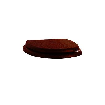 Devon&Devon Blues Сиденье для унитаза из мдф, (микролифт) цвет: красное дерево/петли светлое золото