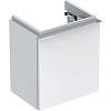 Geberit iCon Тумба с раковиной 37х42х28см, с 1 отв., подвесная, с одной дверью, цвет: белый