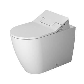 Duravit ME by Starck SensoWash Унитаз напольный пристенный вариант, с вертикальным смывом, включая крепление, сток горизонтальный, только в сочетании с сиденьем, цвет: белый