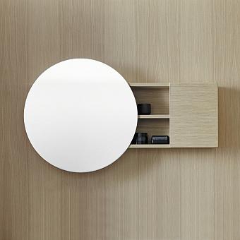 Burgbad Coco Зеркальный шкаф с подсветкой 120x70x17 см, дуб натуральный