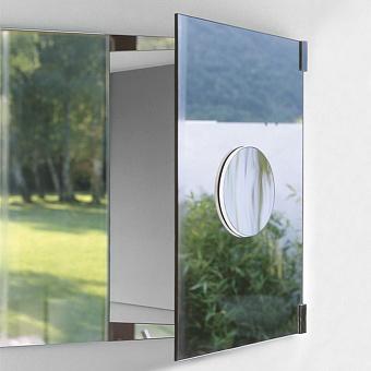 Agape Spai Круглое зеркало d17.5 см, цвет: металл