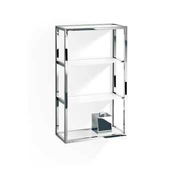 Decor Walther ET 6 Шкафчик открытый 35x15x60см, стекло белое, цвет: хром