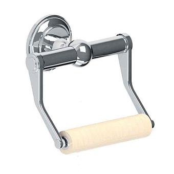 Cristal et Bronze Odiot manettes Настенный держатель для туалетной бумаги, цвет хром