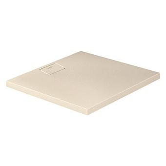 Duravit  Stonetto Поддон композитный квадратный  900x900х50mm, d90, цвет Песочный