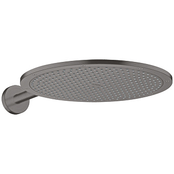 Axor ShowerSolutions Верхний душ Ø 35см, настенный, цвет: шлифованный черный хром