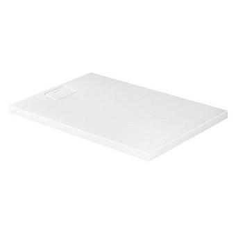 Duravit  Stonetto Поддон композитный прямоугольный  120x80х5см, d9см, цвет белый