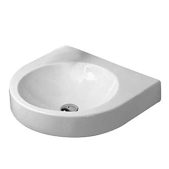 Duravit Architec Раковина 57.5х52 см, без отв., без перелива, дозатор для мыла справа, цвет: белый