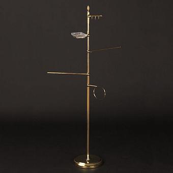 Cristal et Bronze Prestige Стойка напольная 130 см с аксессуарами, цвет: золото