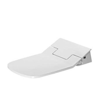 Duravit SensoWash Slim Сиденье для унитаза SensoWash 37.5х54см с душем, цвет: белый