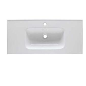Eban Ebantech Раковина для мебели Paola/Chiara/Pamela 82х45,5х14,5 см, с 1 отв под смеситель, цвет белый
