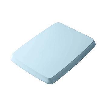 Artceram Civitas Крышка с сиденьем для унитаза, механизм soft-close, цвет: голубой/хром