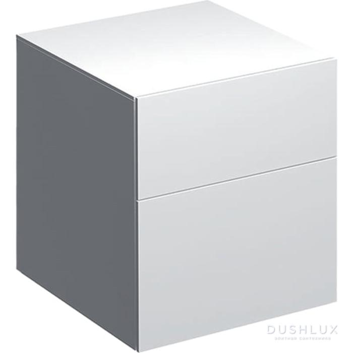 Geberit Xeno² Пенал 45х51х46.2см, подвесной, с двумя выдвижными ящиками, цвет: белый