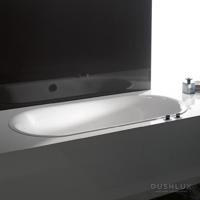 BetteLux Oval Ванна встраиваемая с шумоизоляцией 180x80x45 см, цвет белый