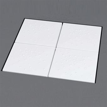 Flaminia Albero Модульный душевой поддон 89x89x h: 5см, цвет: белый