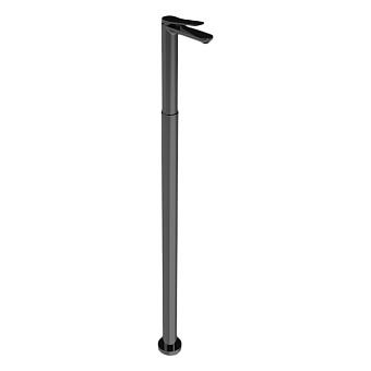 Bongio GIO2 Смеситель напольный, излив 156 мм, цвет: черный матовый
