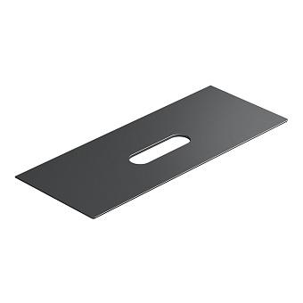 Catalano Horizon Столешница керамическая 125х25хh11см, подвесная/накладная, цвет: черный глянцевый