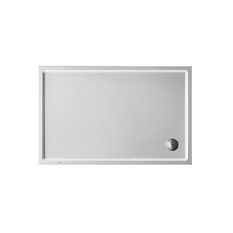 Duravit Starck Slimline Поддон акриловый 1400x900мм, опоры, выпуск, цвет белый
