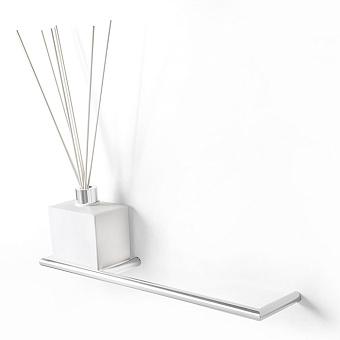 3SC Guy Полотенцедержатель и ароматический диффузор слева, подвесной, композит Solid Surface, цвет: белый матовый/белый матовый